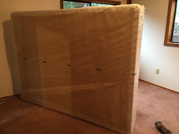 FREE: queen box spring-new