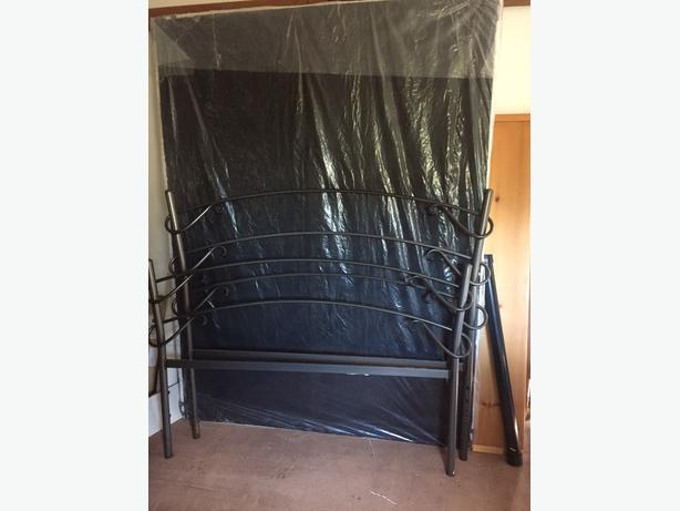 FREE: double bed head and foot frame