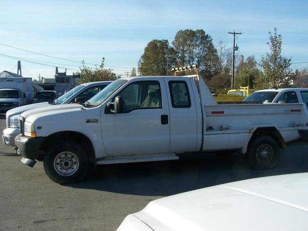 2002 Ford F350 SD ExtCab 4x4 Pickup