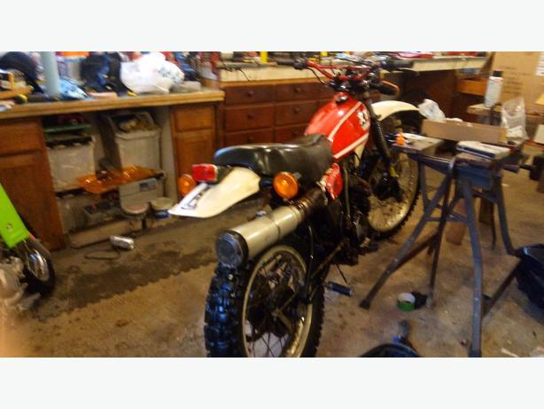 xt Yamaha 250 1980