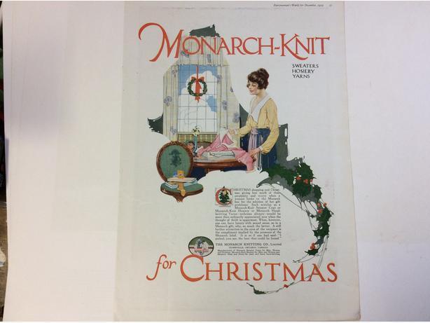 Christmas ad.