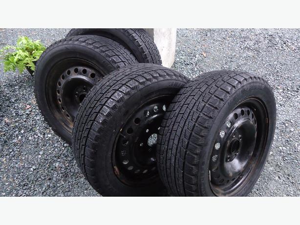 215/55R16 Honda Rims & Winter Tires