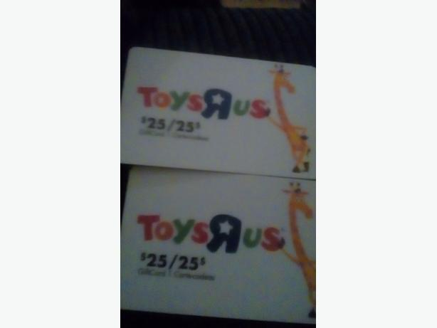 TOYS R US GIFT CARD