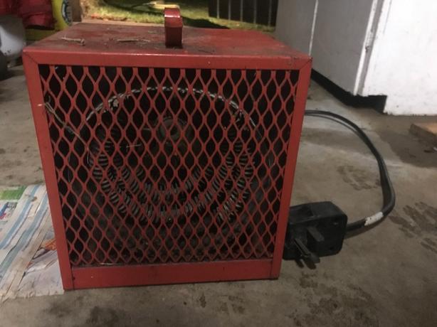 drywall heater 20 amp 240V
