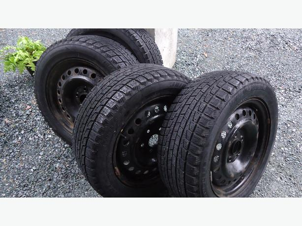 215/55R16 Honda Rims & Winter Tires