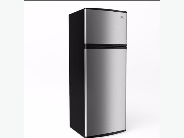 Whirlpool fridge stainless steel