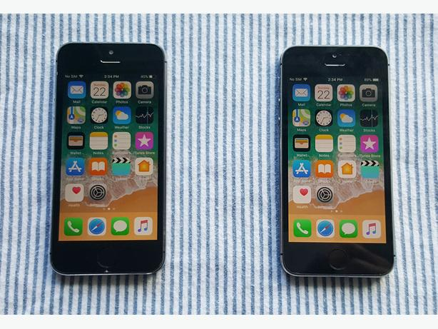 2 iPhone 5S Rogers & Fido 16GB, Mint Condition.