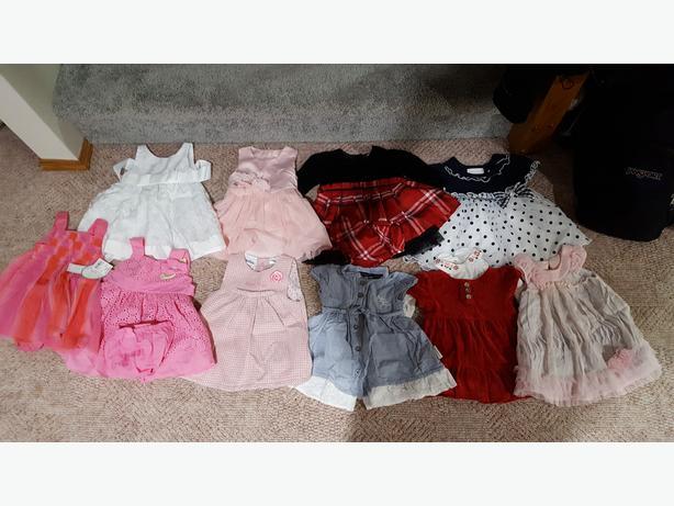 Girl Dresses LOT (6 - 12 month)