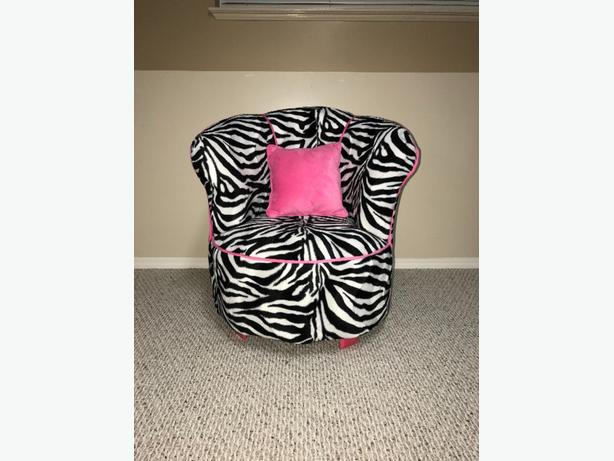 Harmony Kids Minky Tulip Tween Chair