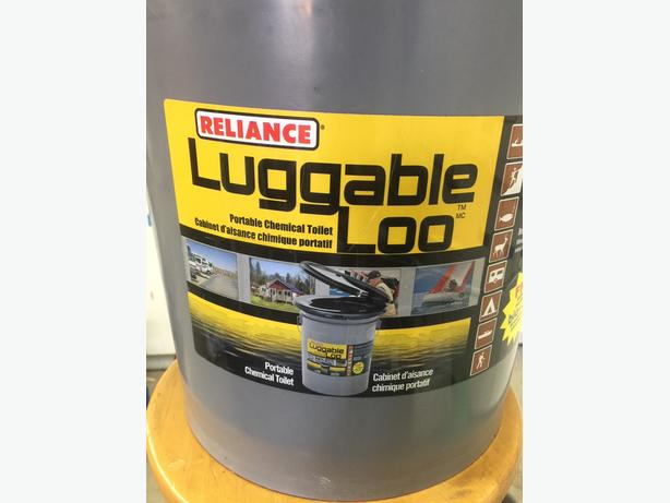 Portable Boat Toilet : Luggable loo portable toilet for boat or motor home saanich victoria