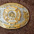 Calgary Fire Department Centennial Belt Buckle - Limited Edition #302
