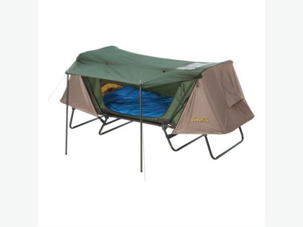 Cabelas double tent cot