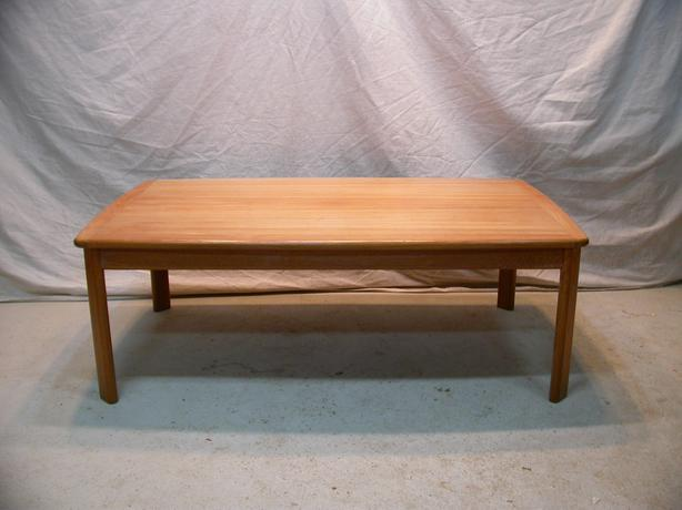 Large Teak Modernist Coffee Table