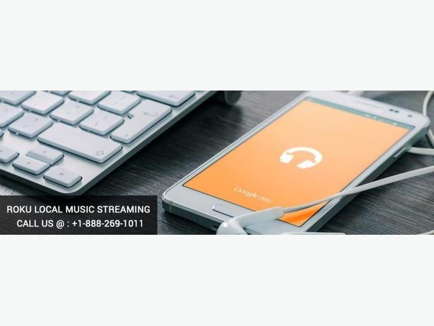 Get new Roku Local Music