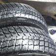 "Pair 15"" Rims with pair  205/70/15 winter tires"