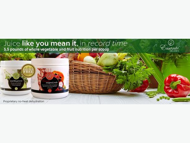 Earth Greens Powder (5.5 lbs. of organic*, whole food, dense vegetables/serving)