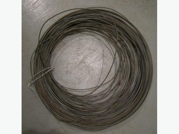 Heavy gauge wire