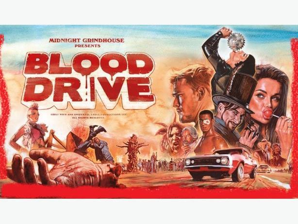 Watch Blood drive TV Series on Roku
