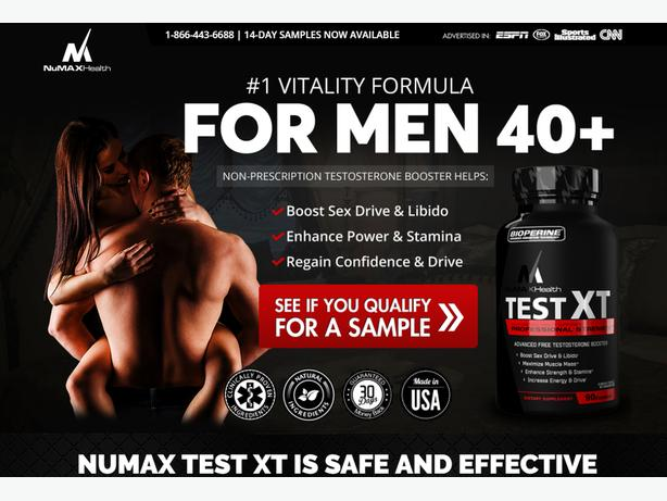 Numax Test Xt--Improves Muscle Growth And Sexual Power