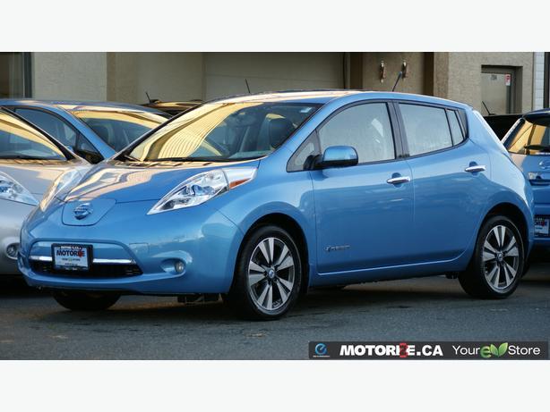 2014 Nissan LEAF SL – Quick Charge Package – Premium Package – STK#M8632