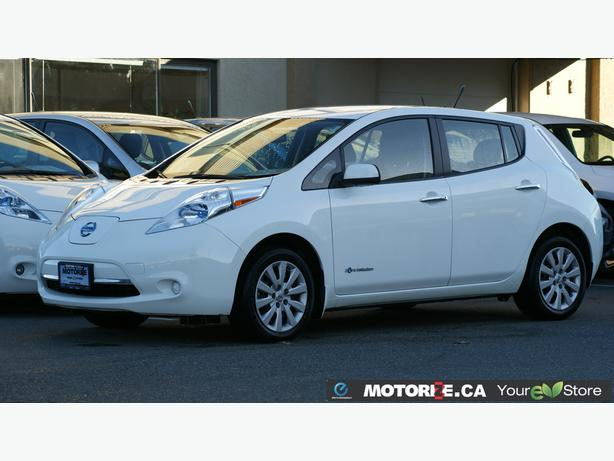 2014 Nissan LEAF S - Quick Charge Package - Backup Camera - STK#M8620