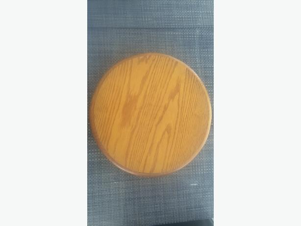 Lazy Susan/Dining Turntable, Oak