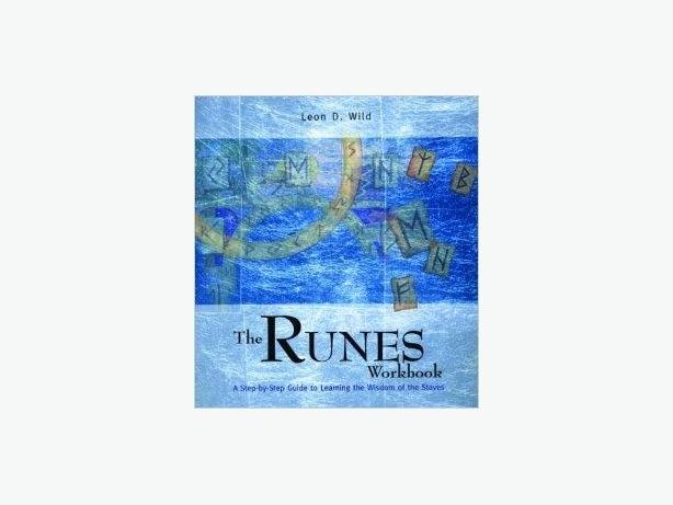 BOOK - THE RUNES WORKBOOK - NEW