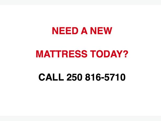 MATTRESSES AND SETS AVAILABLE TODAY.