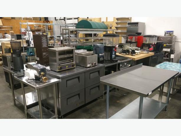 Restaurant Equipment Lease End Auction - Sat, Nov 18