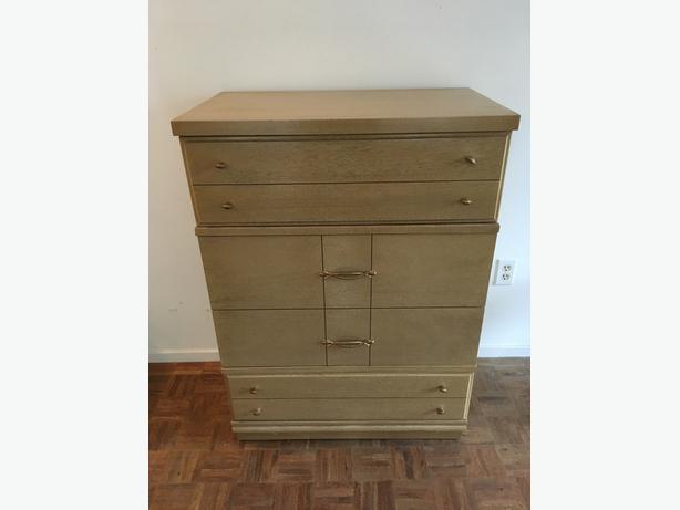Beige Mahagony Dresser