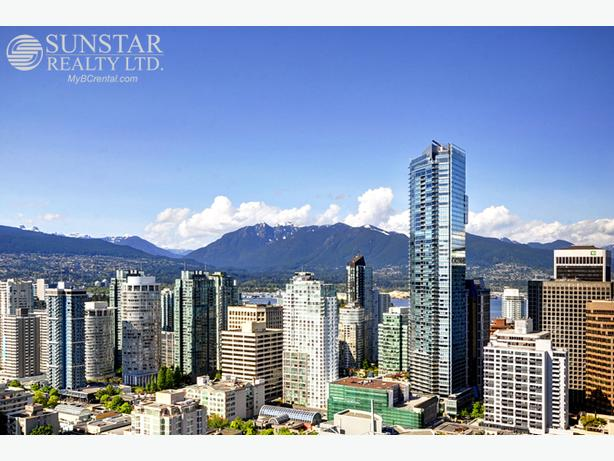 Downtown Furnished 1 Bed w/ Gourmet Kitchen @ Shangri-La (1603)