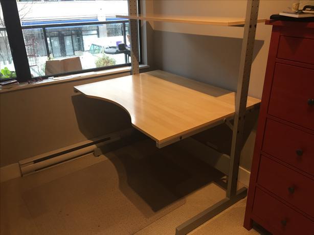 Classic Ikea Jerker Desk For Sale
