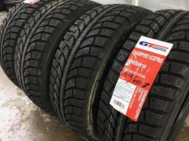 Installed and balanced Brand New 205 55 16 GT Ice Pro winter tires