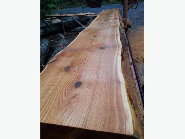 custom live edge, beams, slabs
