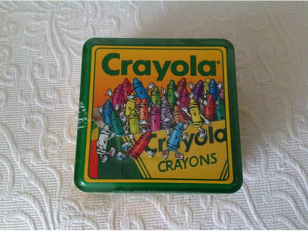 New 1994 Crayola Crayons Collector Tin (unopened)