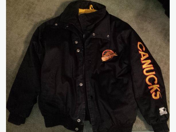 Canucks Starter Winter Jacket Youth
