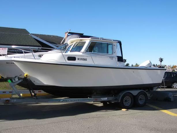 Parker Saltwater Sport Fishing Boat For Sale