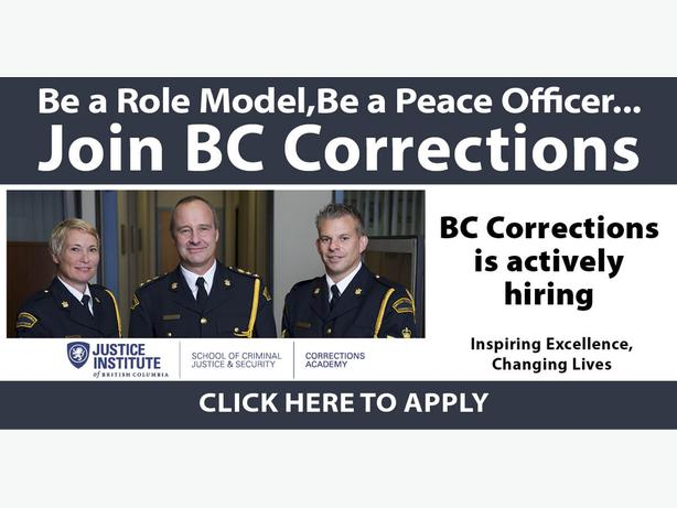 BC Corrections is hiring Correctional Officers! Chilliwack