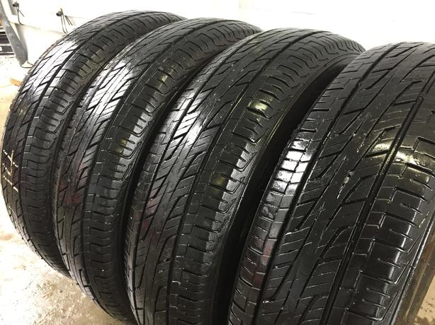 Installed and balanced set of 4 175 70 14 hankook A/S M+S tires