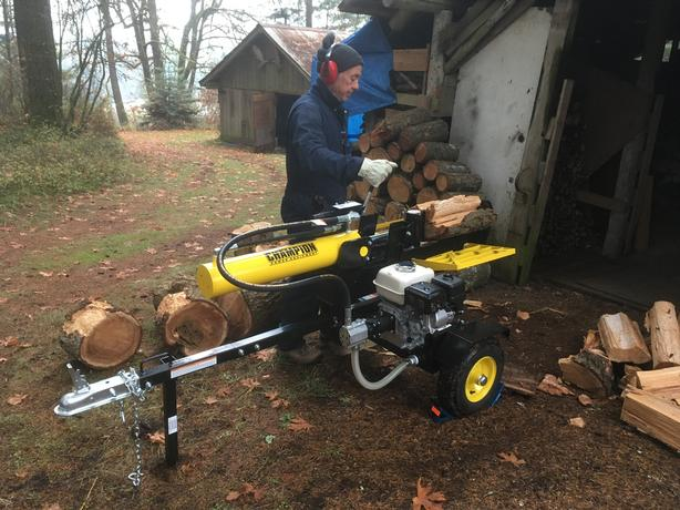 Log splitting services