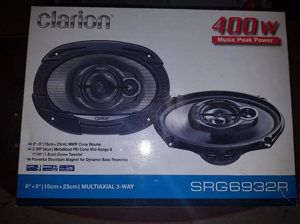 New Clarion 6x9 car speakers