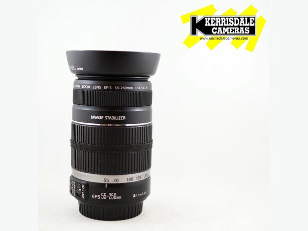 Canon 55-250mm F4-5.6 IS EF-S Lens