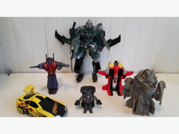 Transformers toys lot