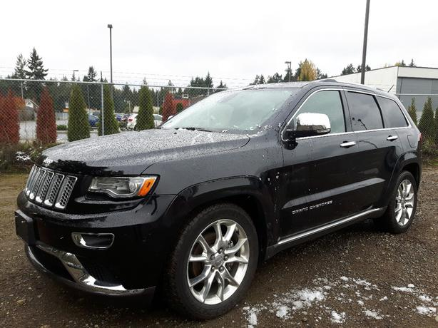USED 2014 JEEP GRAND CHEROKEE SUMMIT FOR SALE IN PARKSVILLE