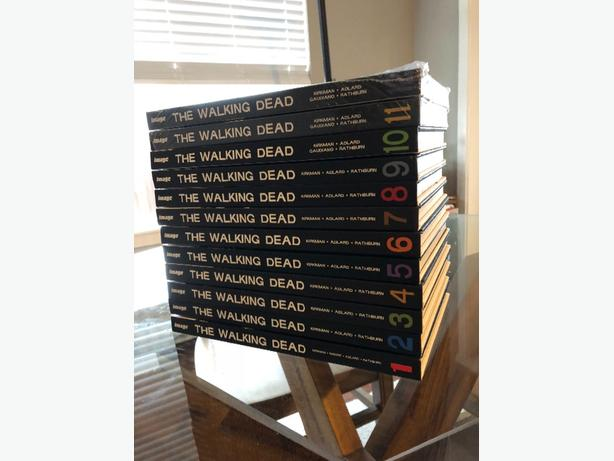 Walking Dead Hardcover Books