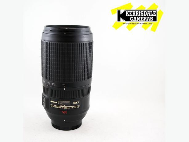 Nikon 70-300mm F4.5-5.6 G ED VR Lens