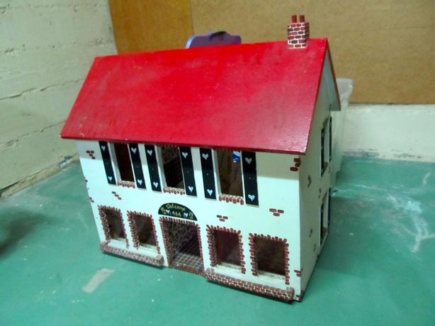 Cool Wooden Doll House