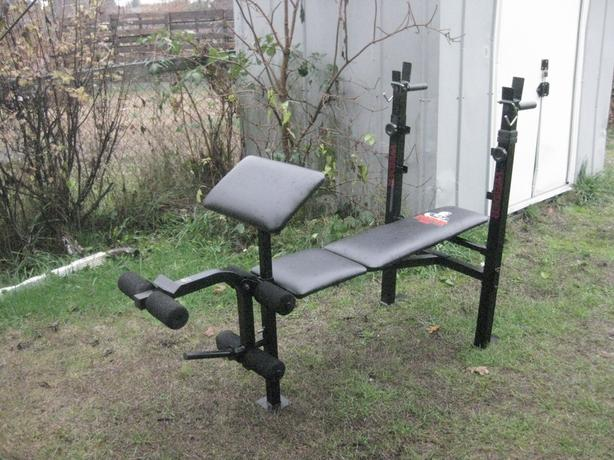 WEIDER 146 :  6 - POSTION WEIGHT BENCH