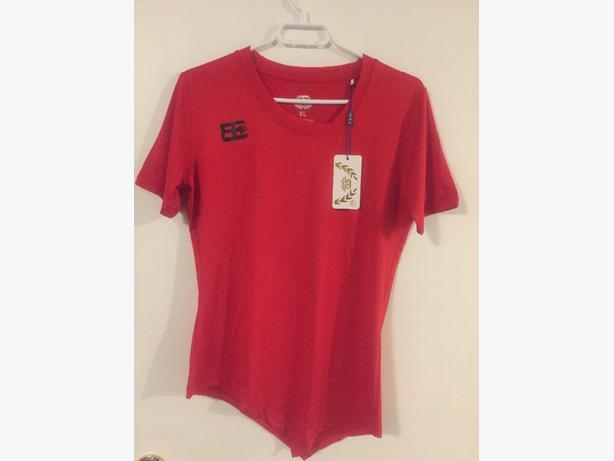brand new red tshirt