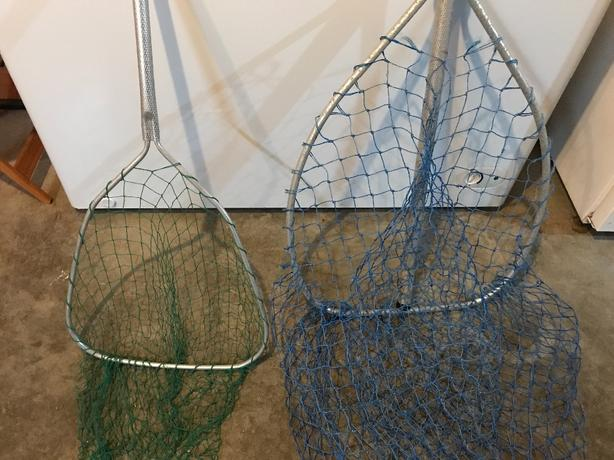 Fishing nets.